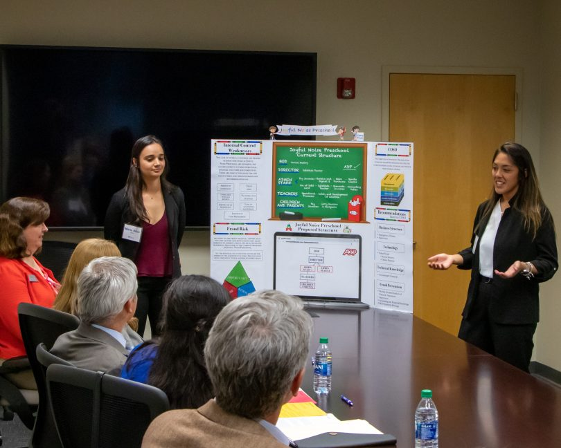 photo from article Hull students compete in real world case competition